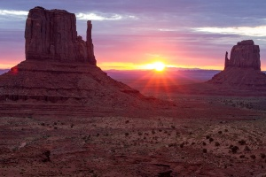 Monument valley sunrise Honorable Mention Nature- General Digital